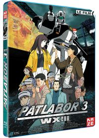 Patlabor 3 : WXIII - Le Film - Blu-ray