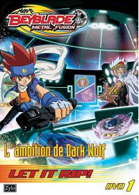 Beyblade Metal Fusion - Vol. 1 : L'ambition de Dark Wolf - DVD
