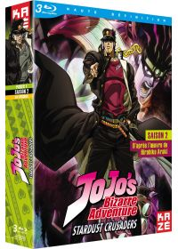 JoJo's Bizarre Adventure - Saison 2 : Stardust Crusaders, Box 1/2 - Blu-ray