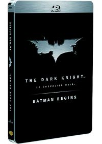 Batman Begins + The Dark Knight (Édition Limitée boîtier SteelBook) - Blu-ray