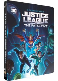 Justice League vs The Fatal Five (Édition SteelBook) - Blu-ray