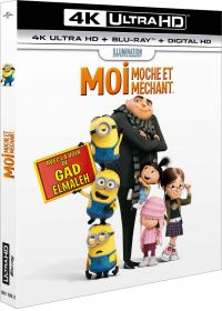 Moi, moche et méchant (4K Ultra HD + Blu-ray + Digital HD) - Blu-ray 4K