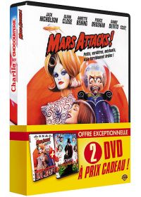 Charlie et la chocolaterie + Mars Attacks! (Pack) - DVD