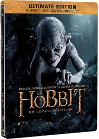 Le Hobbit : Un voyage inattendu (Ultimate Edition - Blu-ray + DVD + Copie digitale - SteelBook Gollum) - Blu-ray