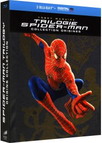 Trilogie Spider-Man - Collection Origines : Spider-Man 1 + Spider-Man 2 + Spider-Man 3 (Édition limitée - Blu-ray + Blu-ray bonus + Digital UltraViolet) - Blu-ray