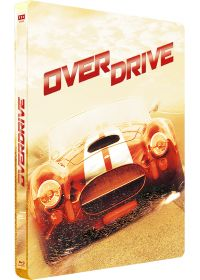 Overdrive (Blu-ray + Copie digitale - Édition boîtier SteelBook) - Blu-ray