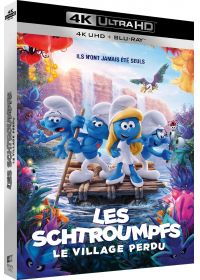 Les Schtroumpfs et le Village perdu (4K Ultra HD + Blu-ray + Digital UltraViolet) - Blu-ray 4K