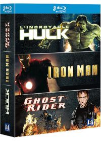 L'Incroyable Hulk + Iron Man + Ghost Rider (Pack) - Blu-ray