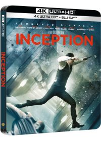 Inception (4K Ultra HD + Blu-ray - Édition boîtier SteelBook) - 4K UHD