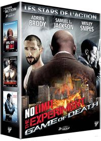 Stars de l'action : No Limit + The Experiment + Game of Death (Pack) - DVD