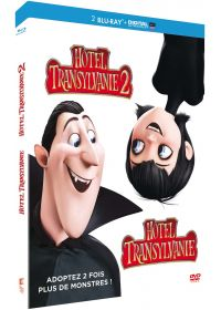 Hôtel Transylvanie 1 et 2 (Blu-ray + Copie digitale) - Blu-ray