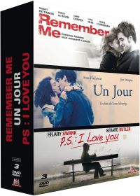 Remember Me + Un jour + P.S. : I Love You (Pack) - DVD