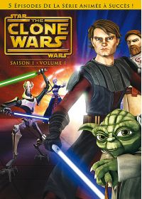 Star Wars - The Clone Wars - Saison 1 - Volume 1 - DVD