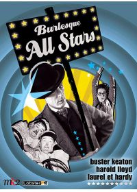 Burlesque All Stars - Le mécano de la General + Laurel et Hardy conscrits + Harold LLoyd - DVD