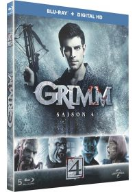 Grimm - Saison 4 (Blu-ray + Copie digitale) - Blu-ray