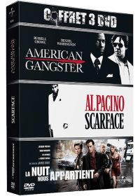 American Gangster + La nuit nous appartient + Scarface (Pack) - DVD