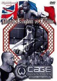 Cage Warriors Fighting Championship : UK vs France - DVD