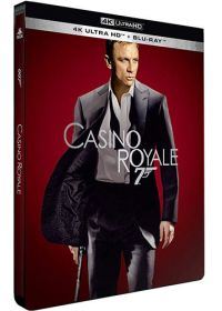 Casino Royale (4K Ultra HD + Blu-ray - Édition boîtier SteelBook) - 4K UHD