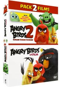 Angry Birds + Angry Birds 2 : Copains comme cochons - DVD