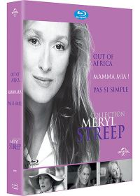 Collection Meryl Streep - Coffret - Out of Africa + Mamma Mia ! + Pas si simple (Pack) - Blu-ray