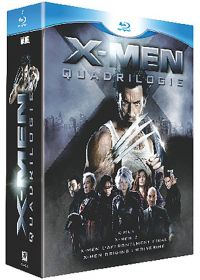 X-Men : La quadrilogie (Pack) - Blu-ray