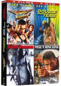 Jean-Claude Van Damme - Coffret - Street Fighter + Double Team + Risque Maximum + Piège à Hong Kong (Pack) - DVD