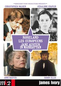 James Ivory - Coffret - Jane Austen in Manhattan + Les Européens + Roseland - DVD