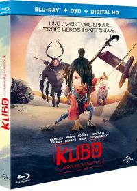 Kubo et l'Armure Magique (Combo Blu-ray + DVD + Copie digitale) - Blu-ray