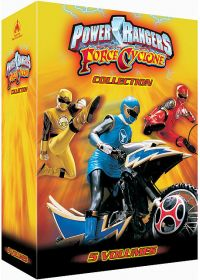 Power Rangers - Force Cyclone - Collection - 5 volumes - DVD