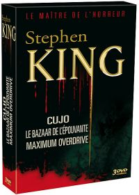 Stephen King : Cujo + Le Bazaar de l'épouvante + Maximum Overdrive (Pack) - DVD
