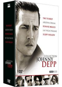 Collection Johnny Depp - The Tourist + Sleepy Hollow + Arizona Deam + Donnie Brasco + Las Vegas Parano - DVD