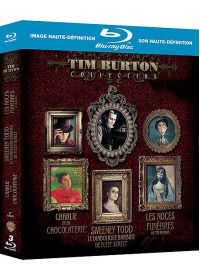 Tim Burton Collection - Coffret - Sweeney Todd + Charlie et la chocolaterie + Les noces funèbres (Pack) - Blu-ray