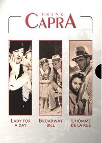 Frank Capra - Lady for a Day + Broadway Bill + L'homme de la rue - DVD