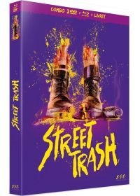 Street Trash (Édition Collector Blu-ray + DVD + Livret) - Blu-ray
