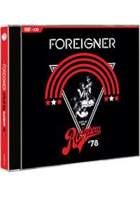 Foreigner - Live At The Rainbow '78 (Blu-ray + CD) - Blu-ray