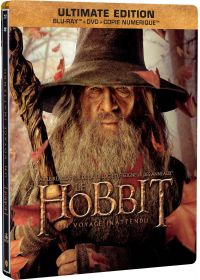 Le Hobbit : Un voyage inattendu (Ultimate Edition - Blu-ray + DVD + Copie digitale - SteelBook Gandalf) - Blu-ray