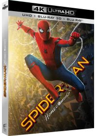 Spider-Man : Homecoming (4K Ultra HD + Blu-ray 3D + Blu-ray + Digital UltraViolet) - 4K UHD