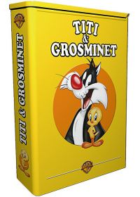 Coffret Titi & Grosminet - Attention danger + Dans la lune (Coffret Tirelire) - DVD