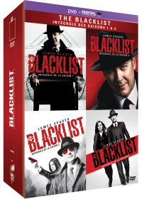 The Blacklist - L'intégrale saison 1 à 4 (DVD + Copie digitale) - DVD