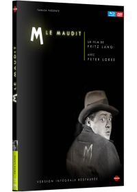 M le maudit (Combo Blu-ray + DVD - Version Intégrale Restaurée) - Blu-ray