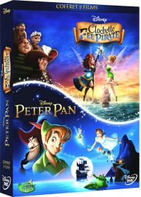 Clochette et la Fée Pirate + Peter Pan (Pack) - DVD