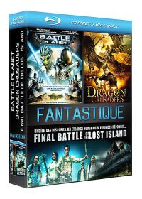 Coffret Fantastique : Battle Planet + Dragon Crusaders + Final Battle of the Lost Island (Pack) - Blu-ray