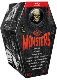 Universal Pictures Monsters - Coffret 8 films (Édition Collector) - Blu-ray