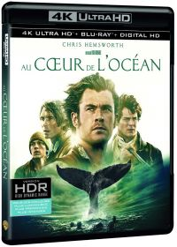Au coeur de l'ocean (4K Ultra HD + Blu-ray + Digital UltraViolet) - 4K UHD