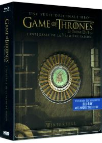 Game of Thrones (Le Trône de Fer) - Saison 1 (SteelBook édition limitée - Blu-ray + Magnet Collector) - Blu-ray