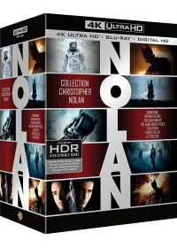 Collection Christopher Nolan : Dunkerque + The Dark Night Trilogy + Inception + Interstellar + Le Prestige (4K Ultra HD + Blu-ray + Digital HD) - Blu-ray 4K
