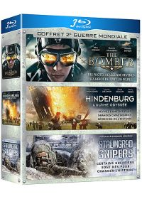 Coffret 2e Guerre Mondiale : The Bomber + Hindenburg - L'ultime odyssée + Stalingrad Snipers (Pack) - Blu-ray