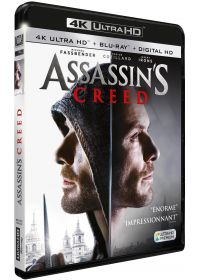 Assassin's Creed (4K Ultra HD + Blu-ray + Digital HD) - Blu-ray 4K