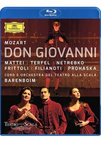 Anna Netrebko : Don Giovanni - Blu-ray