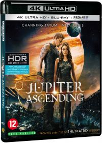 Jupiter : le destin de l'Univers (4K Ultra HD + Blu-ray + Copie Digitale UltraViolet) - Blu-ray 4K